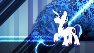 Shining Armor Wallpaper by Game-BeatX14
