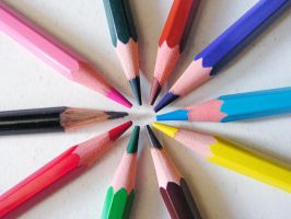 Colour Pencil by Candyshop