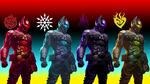 RWBY: Batman Arkham Knight RWBY color scheme. by TheMuffinManxx