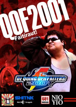 King of Fighters 2001 LIVE ACTION (DVD Cover) by MartiEscageda