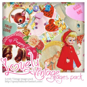 Lovely Vintage images Pack by qeezybaby