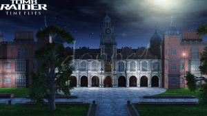 croft manor at night by doppeL-zgz