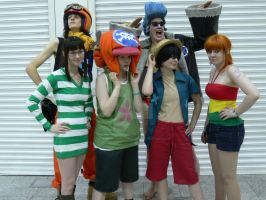MCM October One Piece Group by TheManOfManyFaces