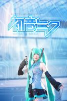 Cosplay : Hatsune Miku - Vocaloid by MaxLy