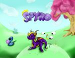 Spyro Wallpaper by ar-ca9