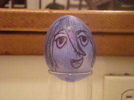 Easter Eggs 2010- Rukia by Fuzzdufuz