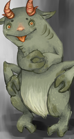 Creature by DreaminInsomniac