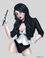 Zatanna by Doretetsu by cerebus873