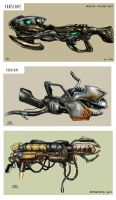 FARSCAPE CONCEPT ART_GUNS001 by tariq12