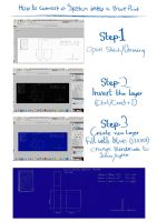 How to Convert a Sketch into a Blueprint by Jammyjamjam7