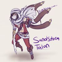 Sandstorm Talon by RuneScratch