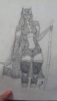 The Huntress by mewrenee145
