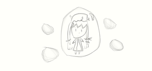 Chibi Patchouli in a bubble by springlover432
