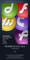 Macromedia STUDIO 8 Icons Pack by akkasone