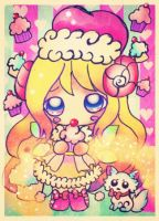 Eris Cupcakes and little Dog for Kioler Contest by TaSaMaBi