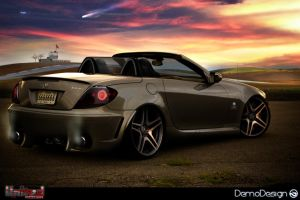 Mercedes SLK55 OMG 666 by DemoDesign