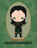 15 000 pageviews - Loki by VickyxRedfield