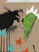 Green Boombox by JimMahfood-FoodOne