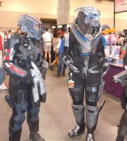 PHX Comic-con: No Shepard without Vakarian by canius
