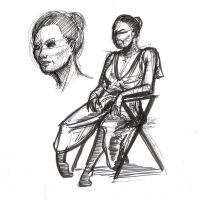 Life Drawing 6 by cmbarnes