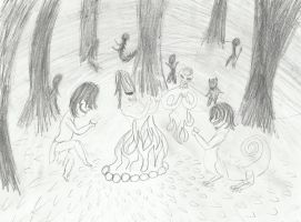 And in that dark wood... by crazytwinlex