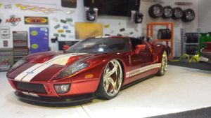 REPOST  2005 Ford GT by themodelist