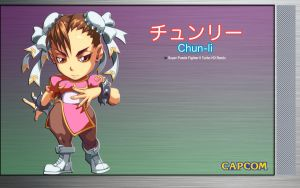 Chun Li - Original Desktop by iFab