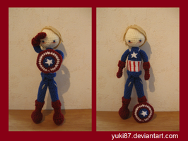 Commission: Captain America 2 by Yuki87