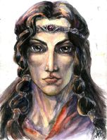 Makalaure portrait by Righon