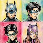Bat Family by dennyibnu