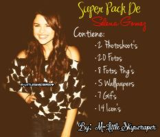 Super Pack De Selena Gomez by M-LittleSkyscraper