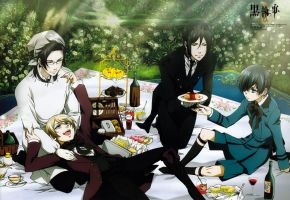 Black Butler Picnic by animelover4242456