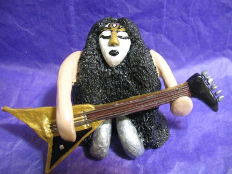 Vinnie Vincent Rock Mini by djdeezigns
