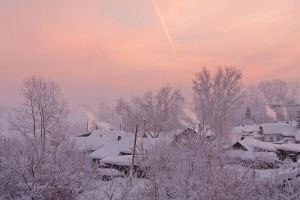 Frosty winter morning by NikolaEs