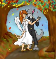 An Autumn Days Dance by Dragon-Furry