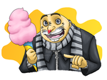 Despicable Me: Cotton Candy by forte-girl7