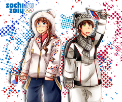 Sochi 2014 - Czech and Slovakia by inahorange