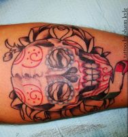 Sugar skull by Shaun-Kyle