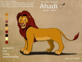 Adult Ahadi Ref Sheet by Nala15