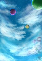 The journey to an unknown planet 3 by Xbasler-Issei-2082