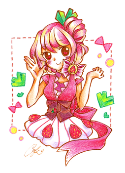 Fraise by Colorful--Melody