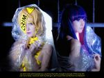 TELEPHONE - Panty and Stocking by kirawinter