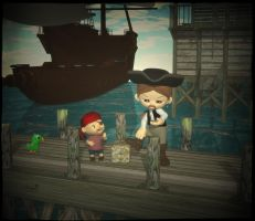 Pirates of seven seas by mininessie66