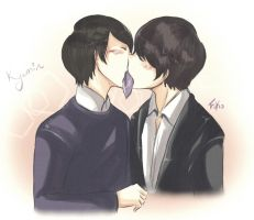 Kyumin: kissing card game by Fuko-chan