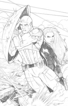 Captain America and Black Widow Shipping 2 by sorah-suhng