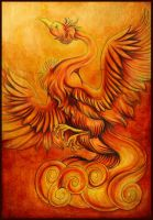The phoenix arises by Lyswen