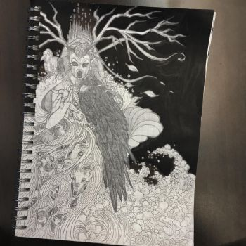 Queen of the Forest by Qcraw