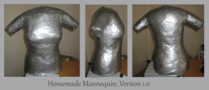 Homemade Mannequin: Ver. 1.0 by craftysorceress