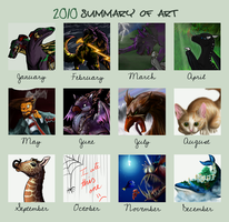 Art Summary 2010 by TinTans