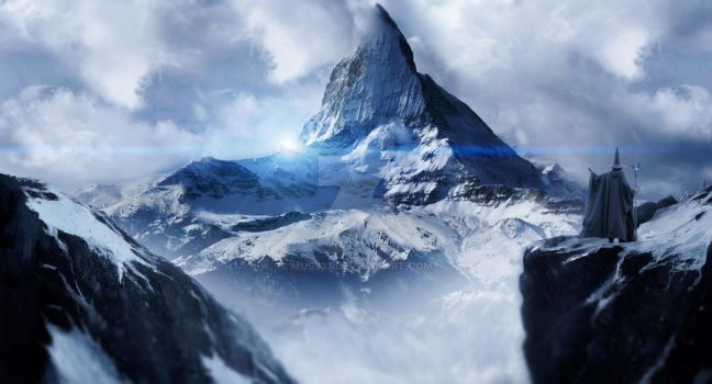 the misty mountain by mus333